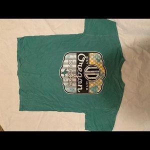 Frat looking shirt comfort colors (Oregon ducks) L